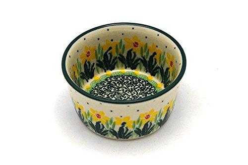 Polish Pottery Ramekin - Daffodil