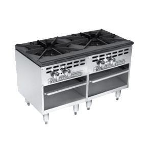 Bakers Pride BPSP-36-2D 36 2 Unit 2 Valve Stock Pot Range