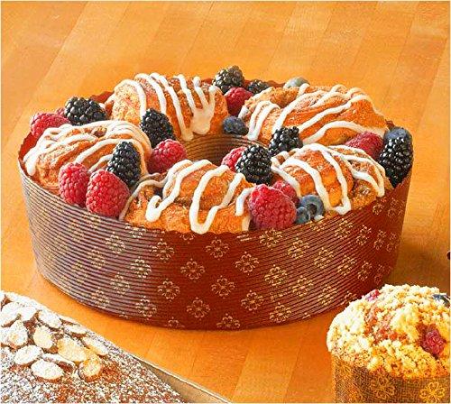 Paper Ring Bundt  Angel Food Cake Pan 7 78 x 2 38 - 12 pcs
