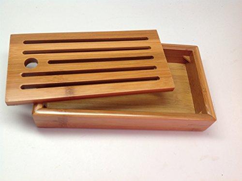 Bamboo Tea Tray Mini Size 002