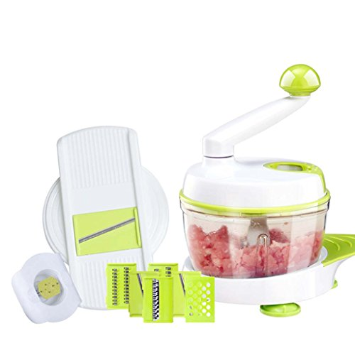 Multi - function chopper meat grinder manual wiping device kitchen artifact potato silk wire cutter