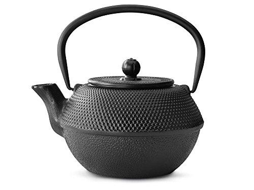 bredemeijer Jang Teapot 12-Liter Black Cast Iron