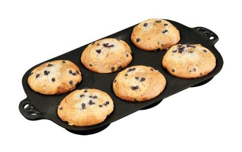Camp Chef True Seasoned  Muffin Topper Cast Iron Pan