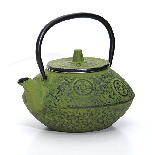 Guro Green Cast Iron Teapot 27 Ounces 08L Kettle Sigma