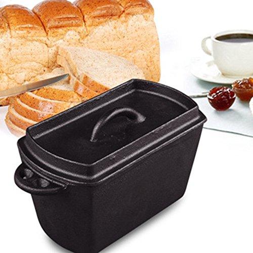 TTLIFE Cast Iron Pots Pig Iron Sticks Toast Cake Bread Baking DIY Kitchen Oven
