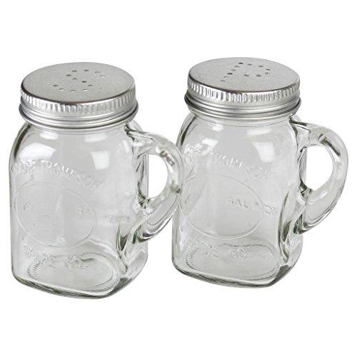 Olde Thompson 3756-00 Mason Jar Salt and Pepper Shaker Set