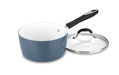 Cuisinart 59193-20SB 3 Qt Saucepan wCover - Slate Blue 3 quart