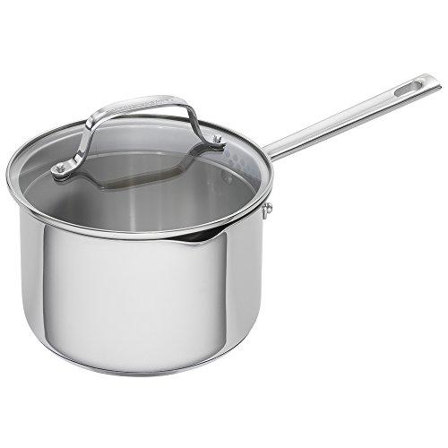 Emeril Lagasse 62956 Stainless Steel Saucepan 3-Quart Silver
