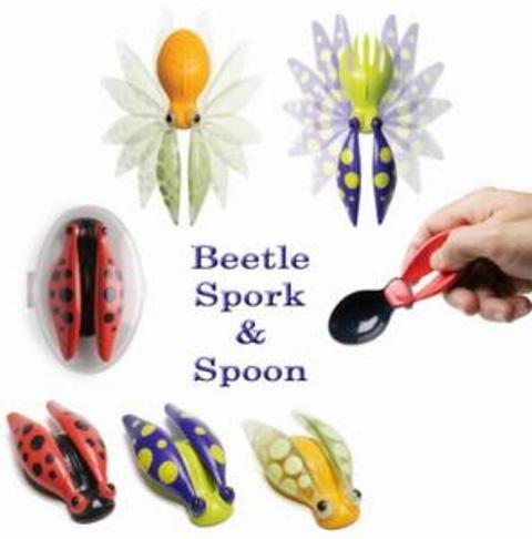 Beetle Spork Spoon