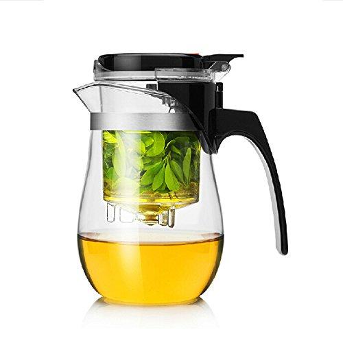 Dechunxian Best Teapot Tumbler Infuser, Perfect Loose Tea Leaves Maker ,easiest Tea Brewing Solution
