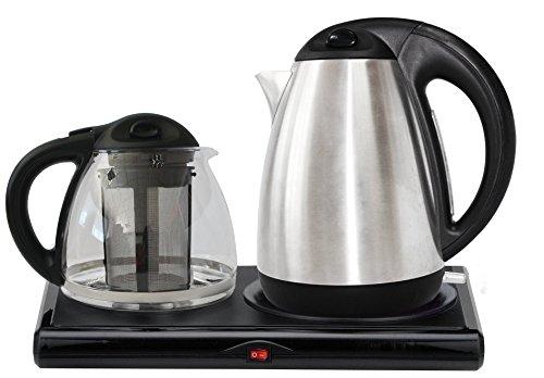 Golda Inc. Tea Maker, Electric Kettle, Tea Tray Set