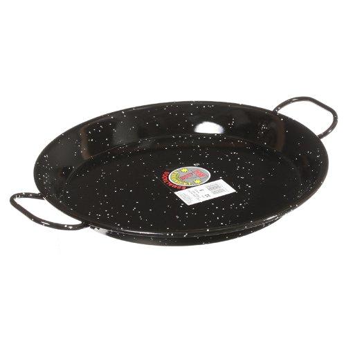 Garcima 12-inch Enameled Steel Paella Pan, 30cm