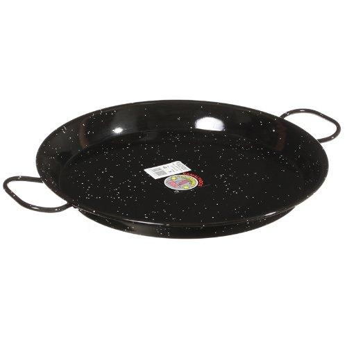 La Paella 16-inch Enameled Steel Paella Pan