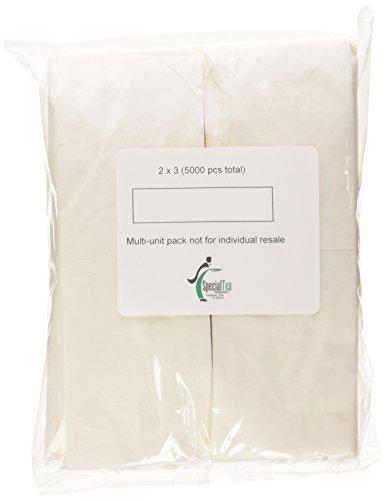Special Tea Empty Tea Bags Bulk Case 2 x 3 Inches 5000 Count