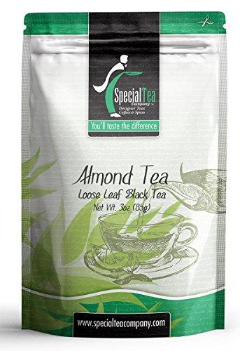 Special Tea Loose Black Tea Almond 3 Ounce