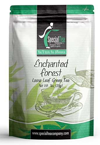Special Tea Loose Leaf Green Tea Enchanted Forest 3 Ounce