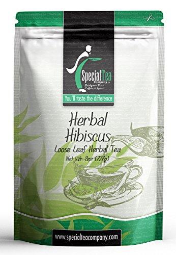 Special Tea Loose Leaf Herbal Tea Hibiscus 8 Ounce