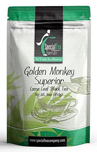 Special Tea Loose Leaf Organic Black Tea Golden Monkey Superior 1 Pound