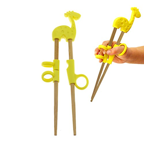 Regpre Bamboo Kids Trainer Learning Training Chopsticks Left Right Hand