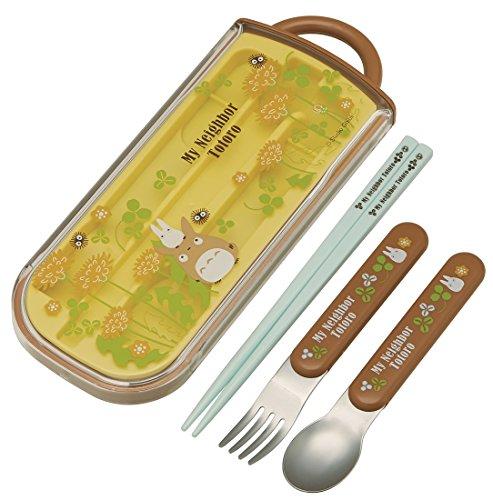 My Neighbor Totoro Design Utensil Set spoon fork chopsticks