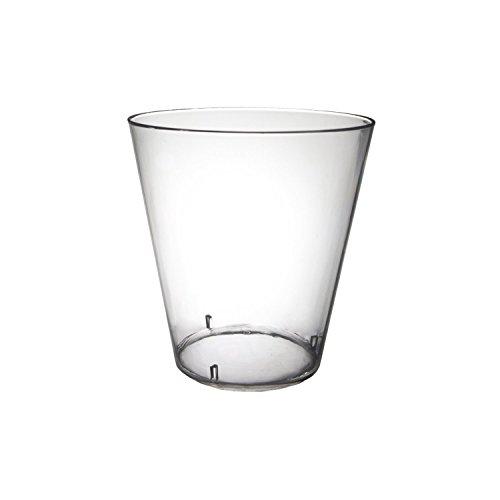 Polar Ice Plastic Shot Glasses 2 ounce 500 Clear