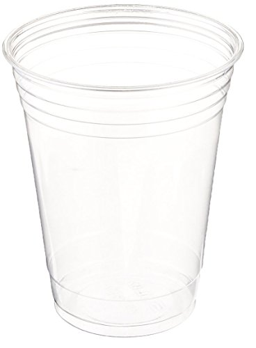 Table To Go Disposable Clear Plastic Cups 100 Pack 24 oz  Crack-Resistant Drinking Glasses  100 BPA-Free  Elegant Ultra-Clear Party Cup Set for Iced Coffee Boba Bubble Tea Smoothies More