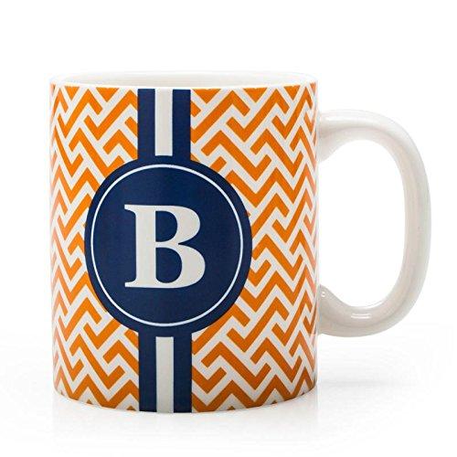 BIA Cordon Bleu Monogram Coffee Mug BOrange
