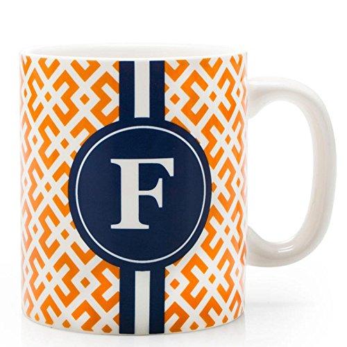 BIA Cordon Bleu Monogram Coffee Mug FOrange