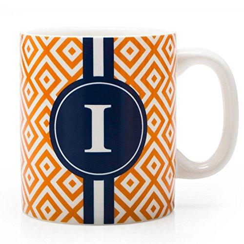 BIA Cordon Bleu Monogram Coffee Mug IOrange