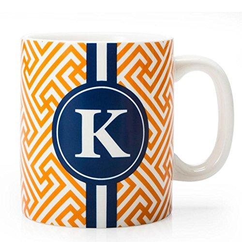 BIA Cordon Bleu Monogram Coffee Mug KOrange