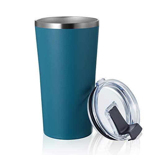 MEWAY 16oz Coffee Mug Coffee Tumbler Coffee Cup Navy 1