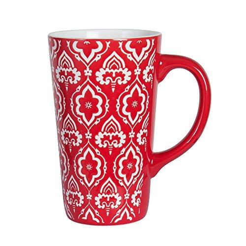 Pfaltzgraff Tall Red Mug 16-Ounce