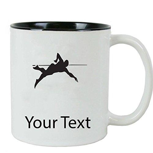 Personalized Custom Swimmer Swimming 11 oz White Ceramic Coffee Mug with White Gift Box