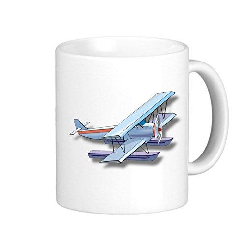 SthAmazing Plane Photo Coffee Travel Mugs Ceramic Travel Mugs