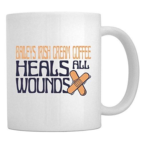 Teeburon Baileys Irish Cream Coffee heals all wounds Mug