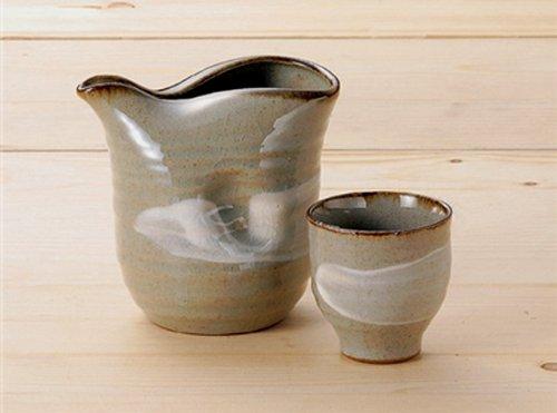 BRUSH-LINE Jiki Japanese Porcelain SAKE Set