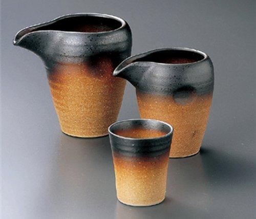 IGA-SABI Jiki Japanese Porcelain SAKE Set