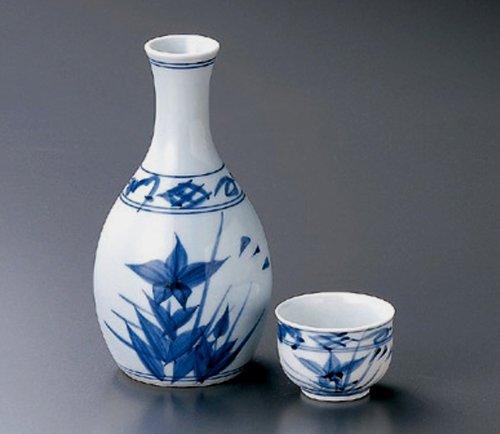 KIKYOU Jiki Japanese Porcelain SAKE Set