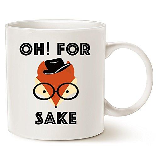 Funny oh for fox sake Ceramic white Coffee mugs 11oz