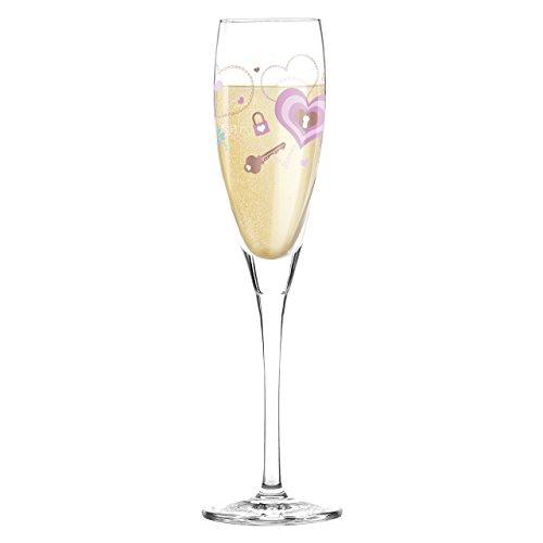 RITZENHOFF 016 Litre Alice Wilson Pearls Edition Champagne or Prosecco Glass