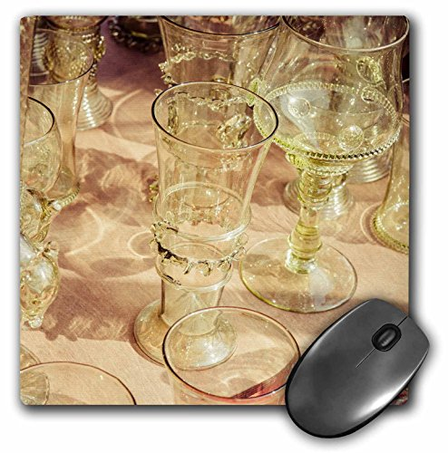 3dRose Alexis Photography - Objects - Beautiful vintage wine glasses Stylized photo - MousePad mp_270825_1