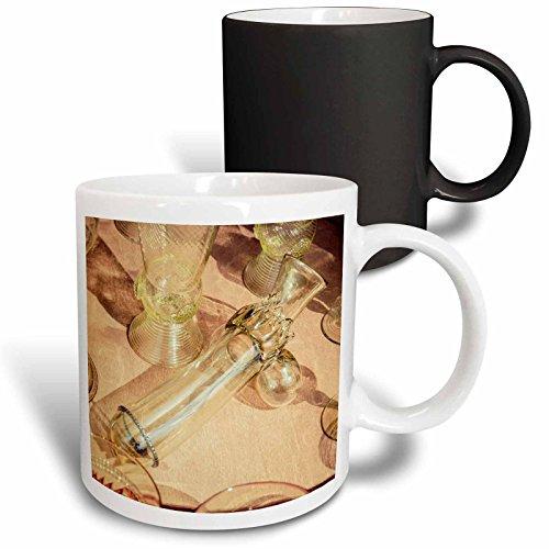 3dRose Alexis Photography - Objects - Erotic vintage wine glass Stylized photo - 11oz Magic Transforming Mug mug_270827_3