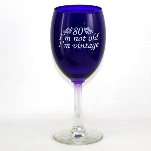 80 Im Vintage Wine Glass