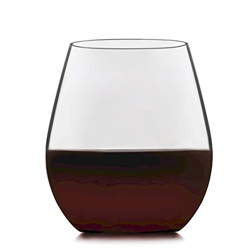 Libbey Signature Kentfield 4-piece Stemless Red Wine Glass Set