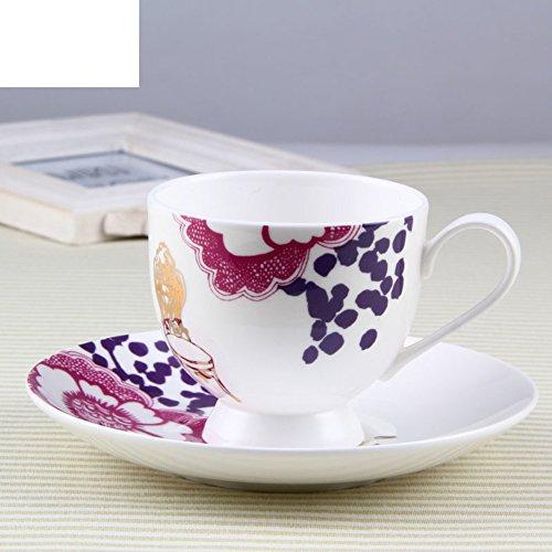 coffee cup red tea cups ceramic glass-A