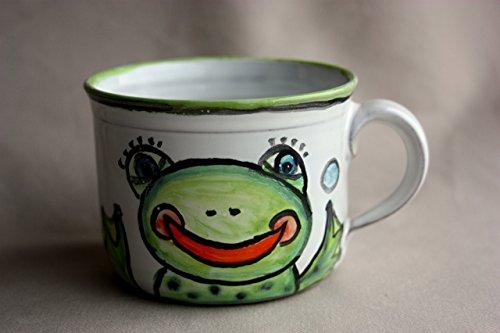 Frog Mug Ceramic Coffee Mug Stoneware Tea Cup