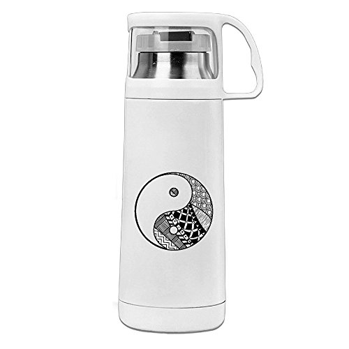 Yin Yang Insulated Drinking Cup Travel Thermos