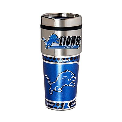 Detroit Lions 16oz Stainless Steel Travel TumblerMug