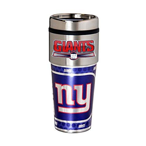 New York Giants 16oz Stainless Steel Travel TumblerMug