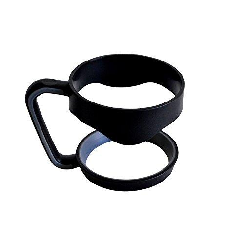 YETI Handle for 30 oz Tumbler -- Fits RTIC Sic Magnum Artic Cups- Easy Grip No Slip Lightweight Mug Handle Handle Only 30 oz Black